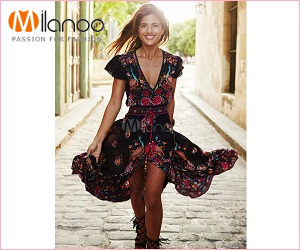 Paixão pela moda apenas em Milanoo.com
